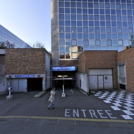 Hôtel de Ville (Malakoff) - Parking public - Malakoff