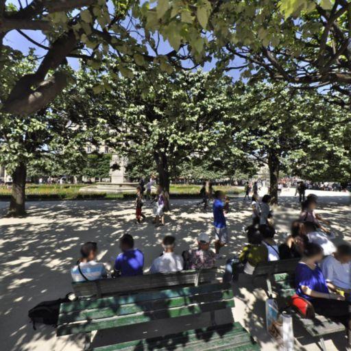 Square Jean XXII - Attraction touristique - Paris