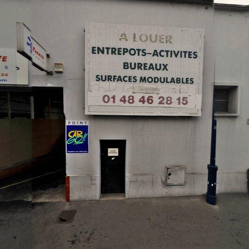 Mur Mur Escalade - Infrastructure sports et loisirs - Pantin