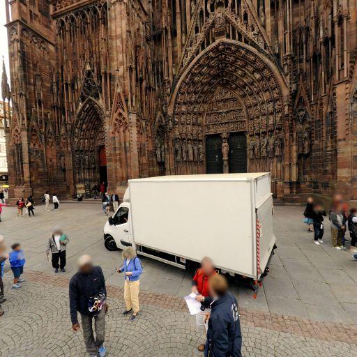 Place de la Cathédrale - Attraction touristique - Strasbourg