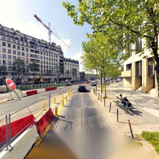 Station Vélib' Berthier - Porte de Clichy - Vélos en libre-service - Paris
