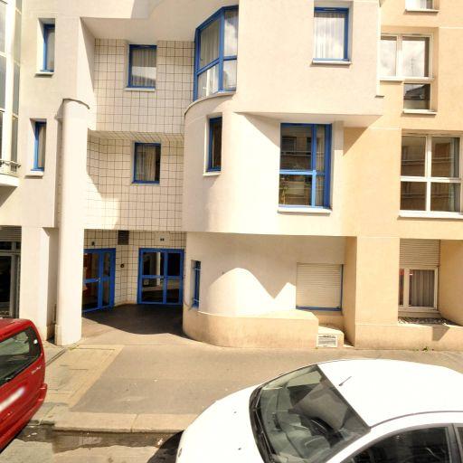 Résidence appartement Georgette Agutte CASVP - Maison de retraite et foyer-logement publics - Paris