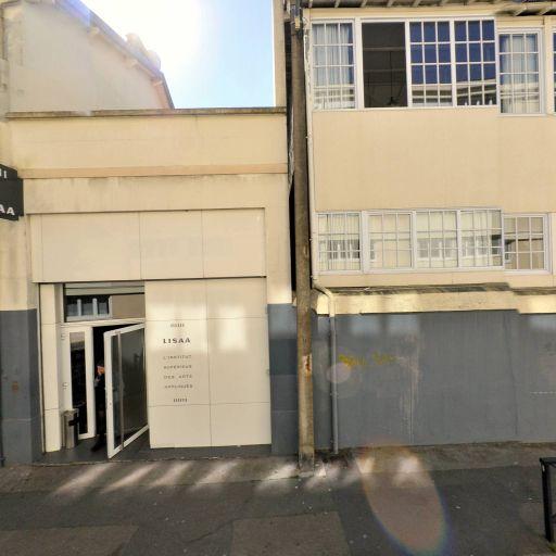 Lisaa Institut privé des arts appliqués - Enseignement pour les professions artistiques - Nantes