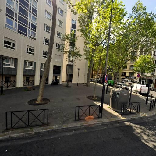 Station Vélib' Jean de la Fontaine - Boulainvilliers - Vélos en libre-service - Paris