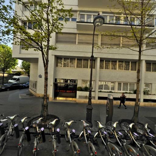 Station Vélib' Michel-Ange - Parent de Rosan - Vélos en libre-service - Paris