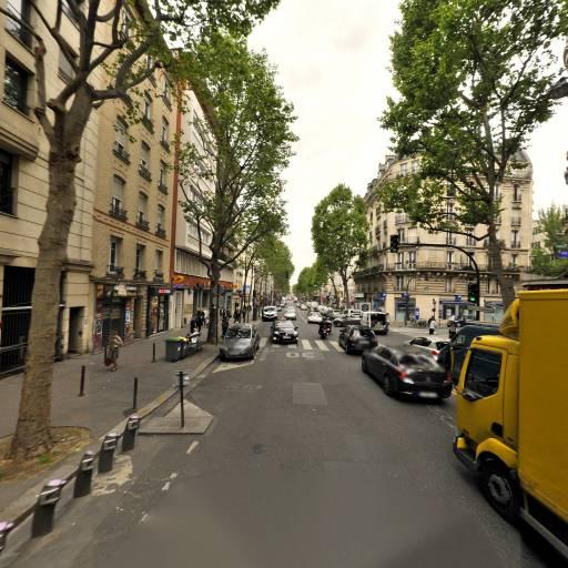 Station Vélib' St-Ouen - Lamarck - Vélos en libre-service - Paris