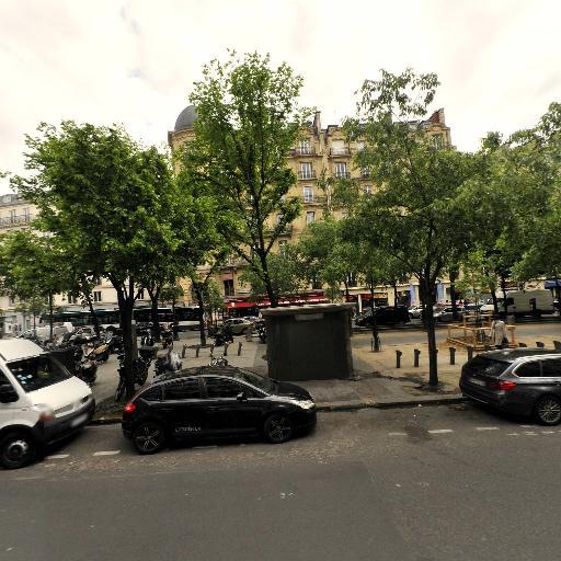 Station Vélib' Batignolles - Place de Clichy - Vélos en libre-service - Paris