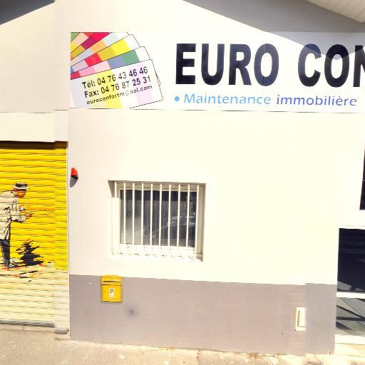 Euro Confort Maintenance - Vente et pose de revêtements de sols et murs - Grenoble