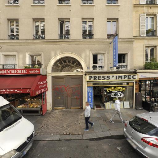Faubourg Press-impec - Laverie - Paris