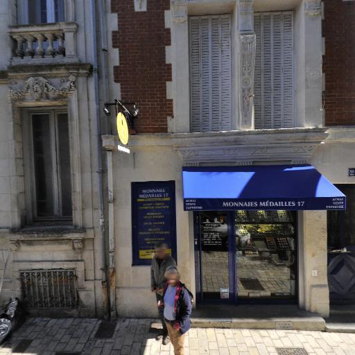 Monnaies Médailles 17 - Bijoux - La Rochelle
