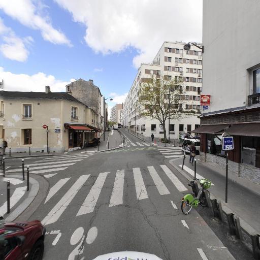 Station Vélib' Buzenval - Vignoles - Vélos en libre-service - Paris