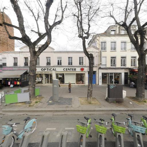 Station Vélib' Charonne - Avron - Vélos en libre-service - Paris