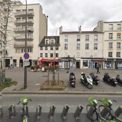 Station Vélib' Charonne - Alexandre Dumas - Vélos en libre-service - Paris