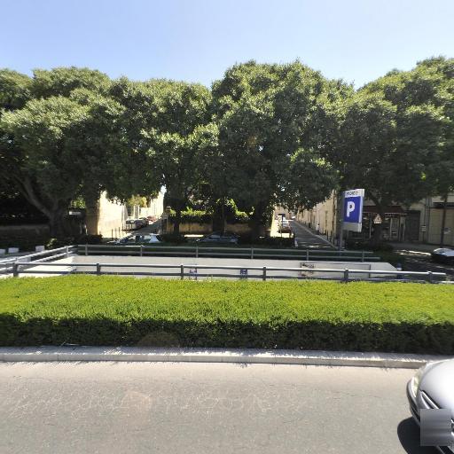 Parking Jardin de la Fontaine - Parking public - Nîmes