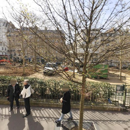 Square Adolphe Chérioux - Parc et zone de jeu - Paris