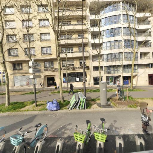 Station Vélib' Saint-Jacques - Tombe Issoire - Vélos en libre-service - Paris
